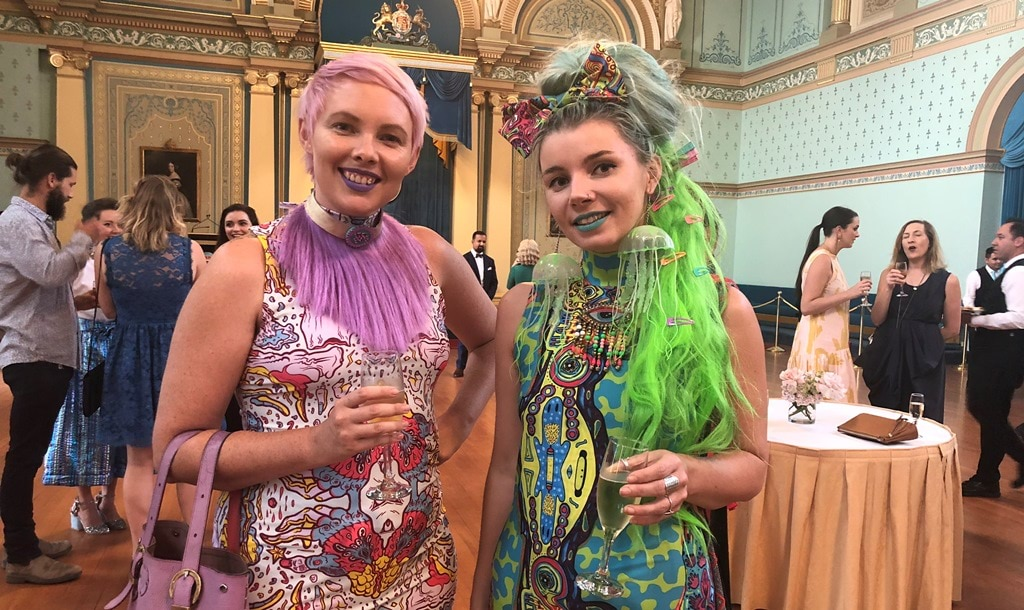 Attendees at the Melbourne Fashion Festival Launch