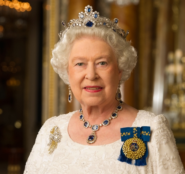 Portrait photograph of Her Majesty The Queen